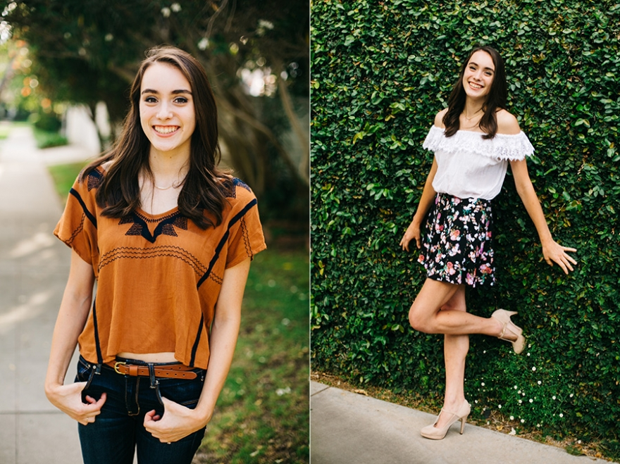 Santa Monica senior portrait photographer