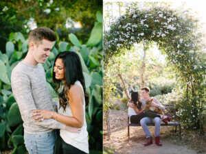 Los Angeles couples engagement photographer