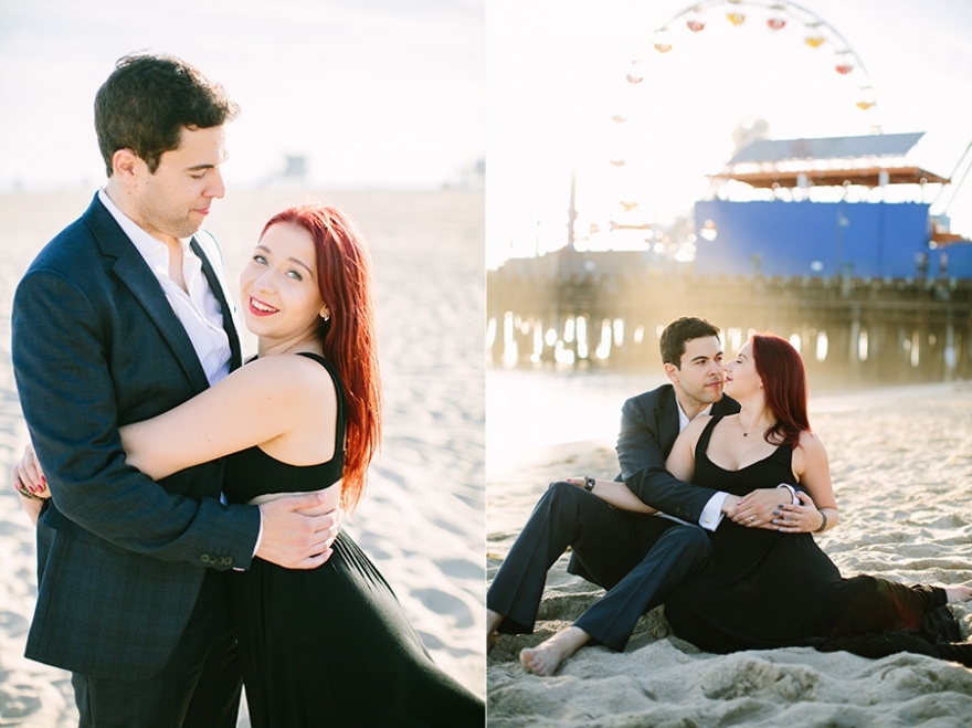Santa Monica couples photographer