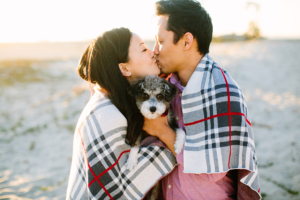 Orange County couple and pet photographer