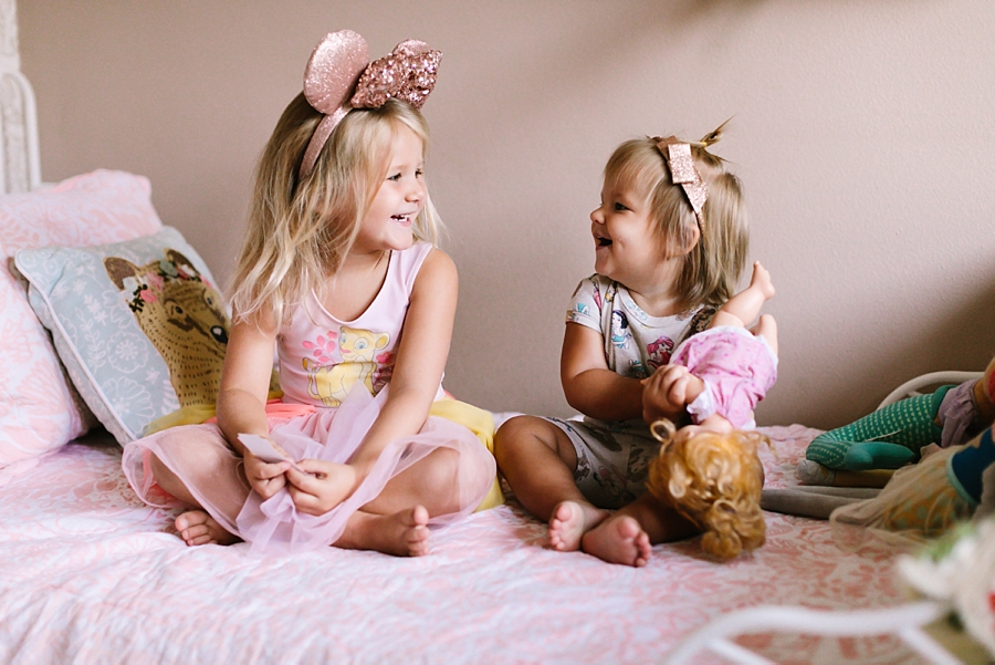September with Evangeline & Goldie | Long Beach family photographer