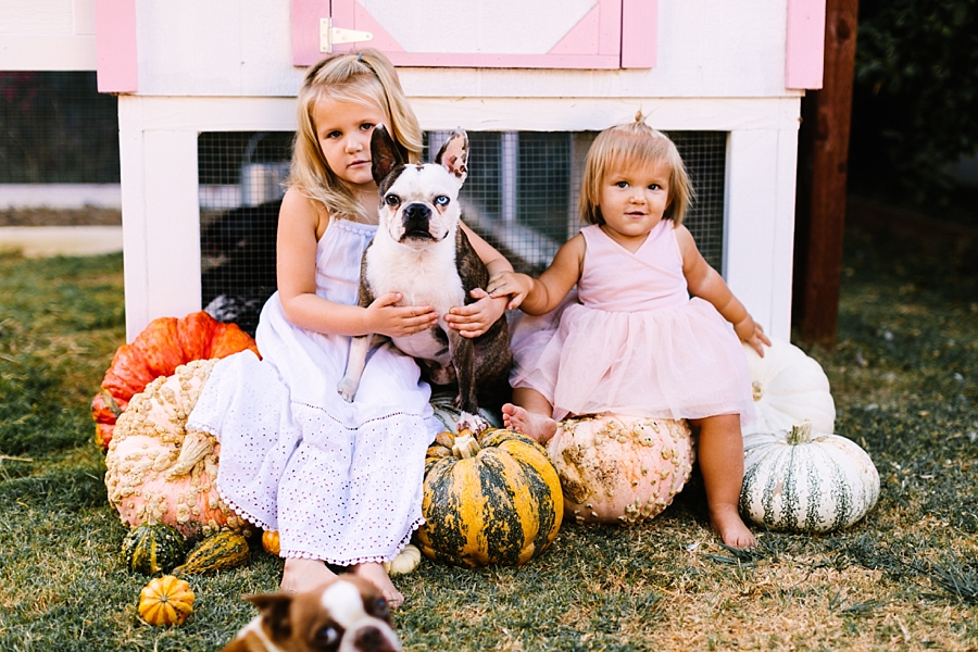 October with Evangeline & Goldie | Long Beach family photographer