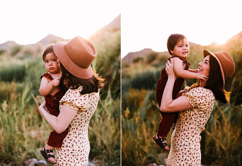 Karina & Remy   Mesa family photographer