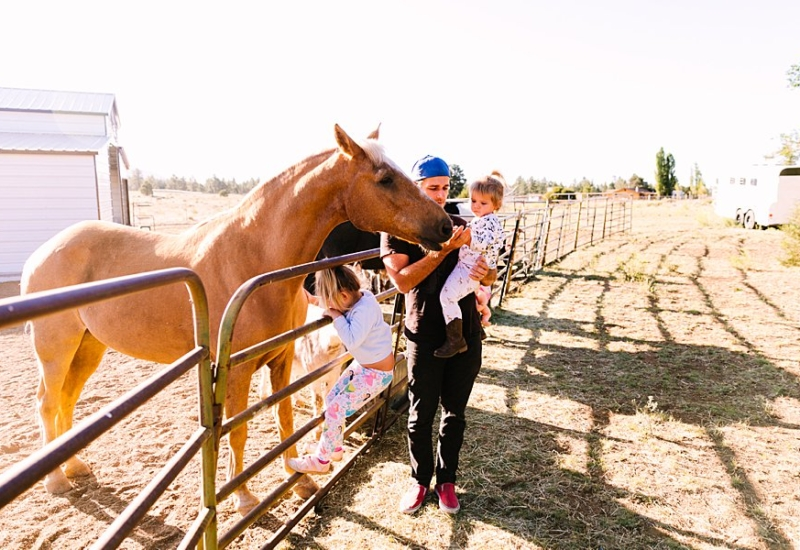 June with Evangeline & Goldie   Phoenix Arizona family photographer