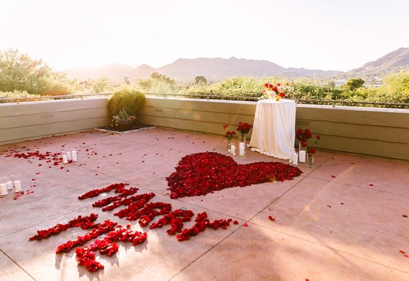 Scottsdale surprise proposal   Arizona engagement photographer