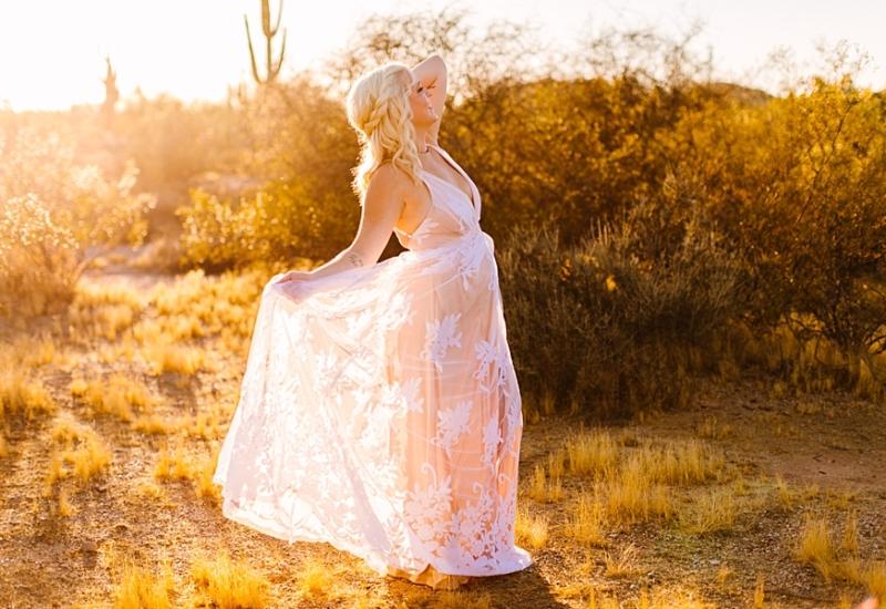 Hailey | Mesa Arizona maternity photographer