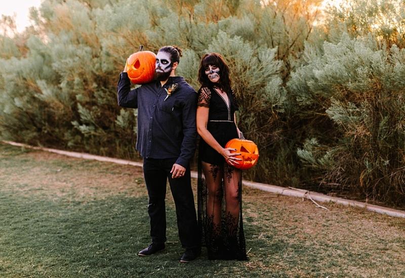 Spooky season is here | Gilbert Arizona couples photographer