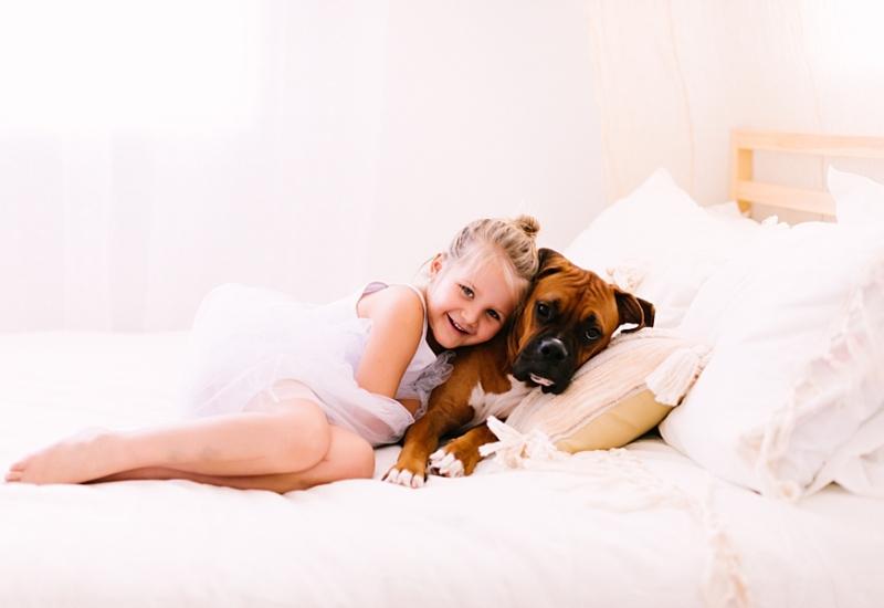 October with Evangeline & Goldie | Queen Creek Arizona family photographer