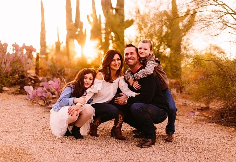 H family | Gilbert Arizona family photographer