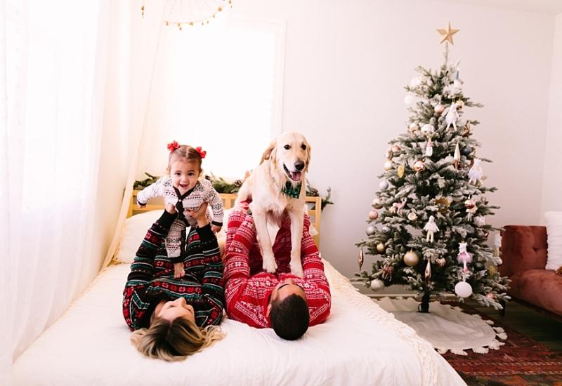 P family | Queen Creek Arizona Christmas mini session