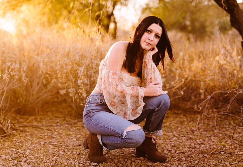 Hailey | Queen Creek Arizona senior portrait photographer