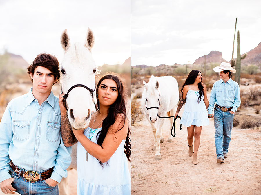 San Tan Arizona engagement photographer