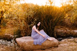 queen creek arizona senior portrait photographer