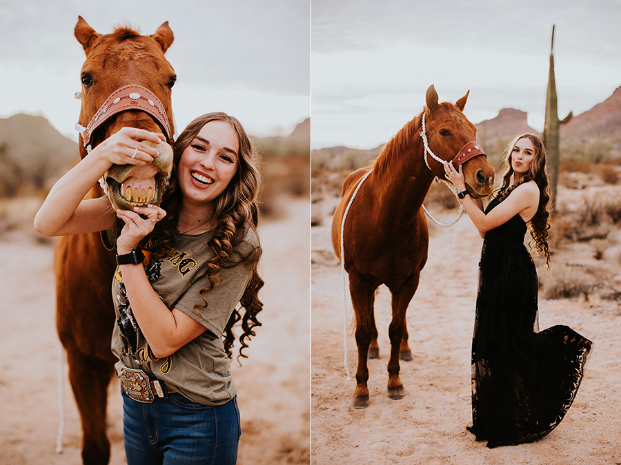 Phoenix Arizona senior portrait photographer