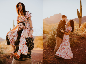 Mesa Arizona engagement photographer