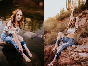 Arizona senior portrait photographer